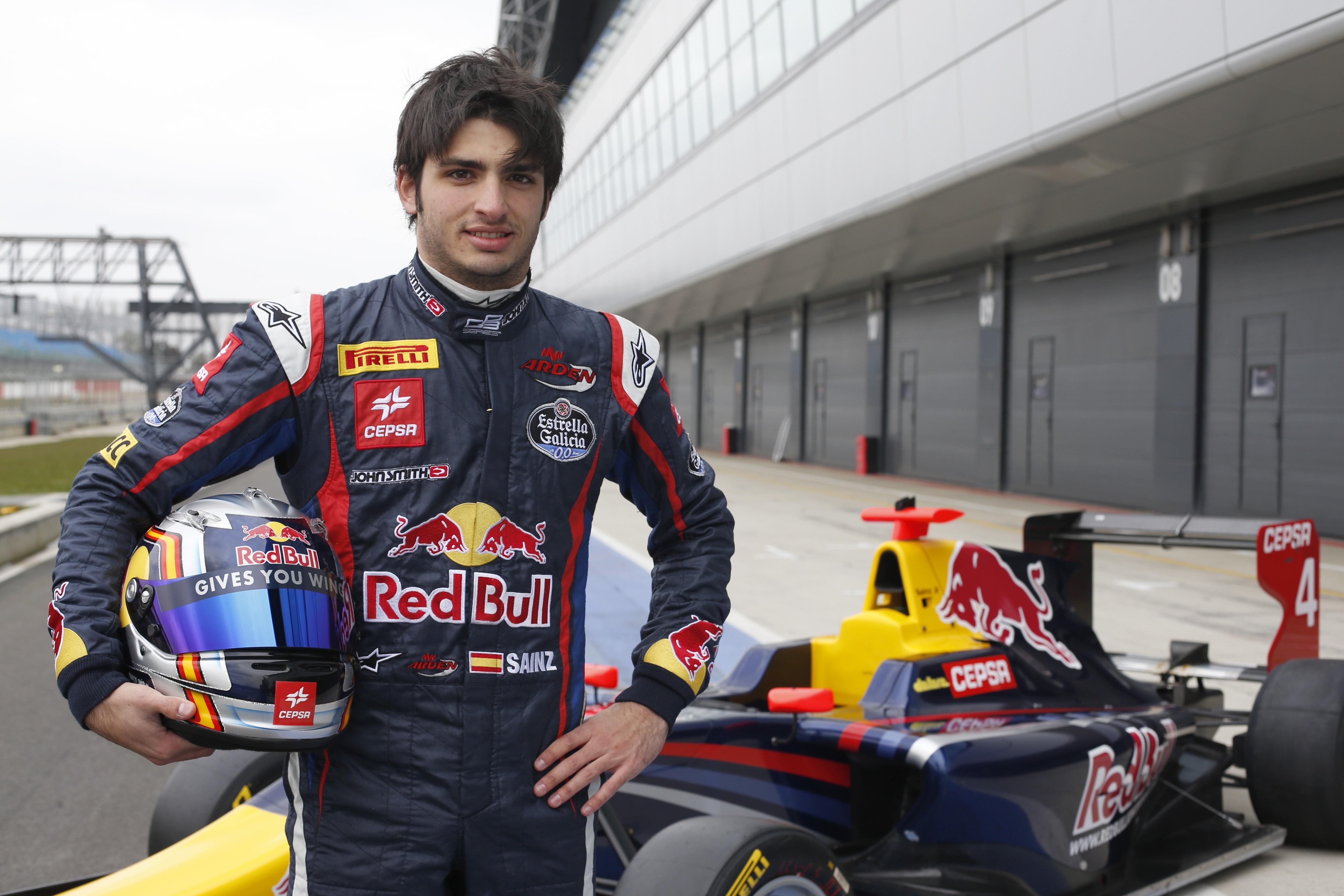 Carlos Saiz Jr., más rápido que Massa en los test de Silverstone