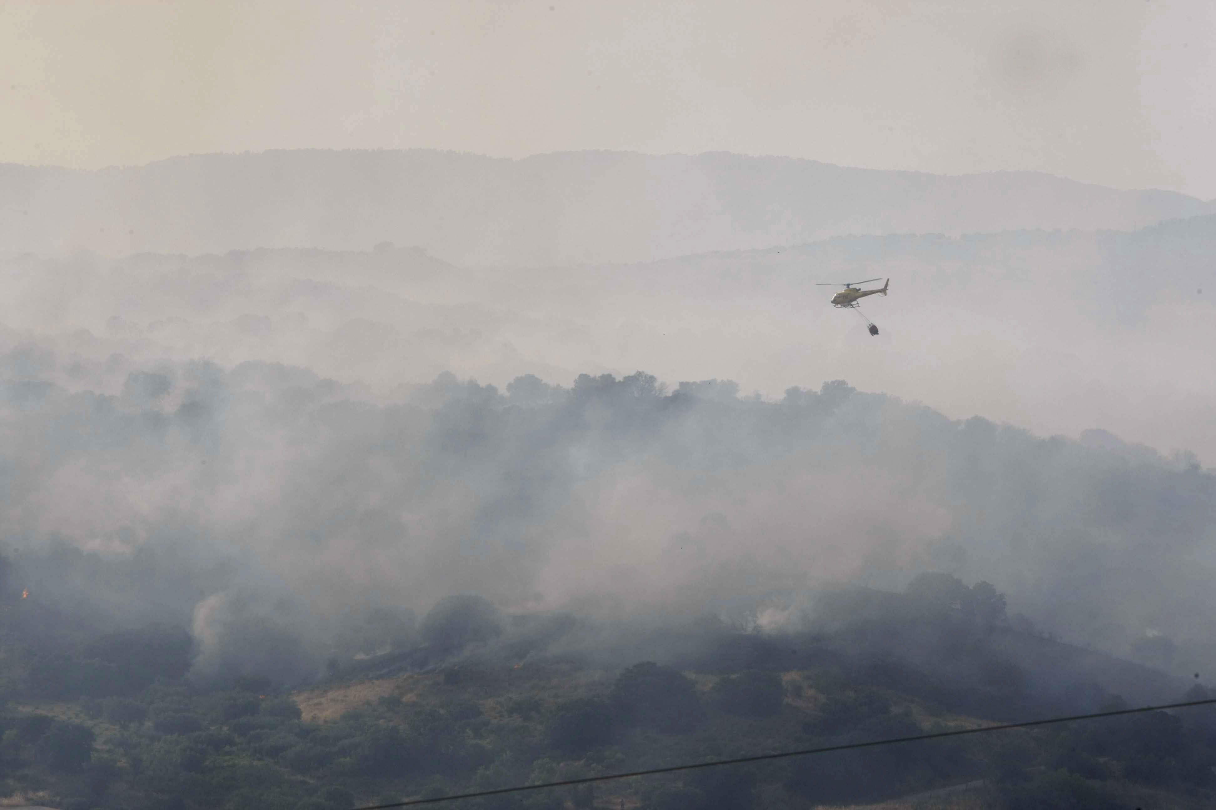 Castilla-La Mancha y Madrid colaboran para pedir responsabilidades por el fuego de Almorox