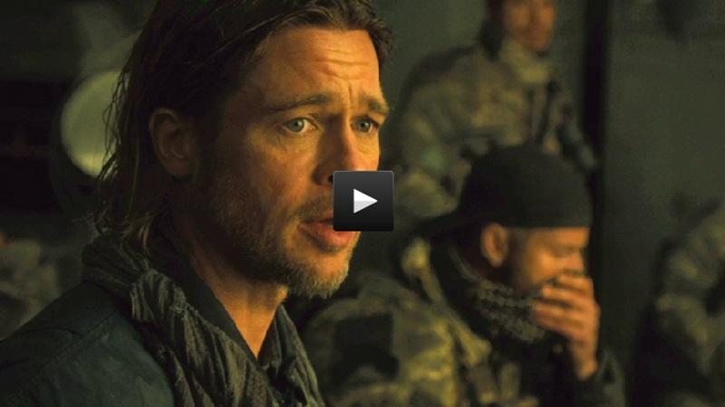 Clip de Guerra Mundial Z: Brad Pitt en primera línea de fuego contra los zombies