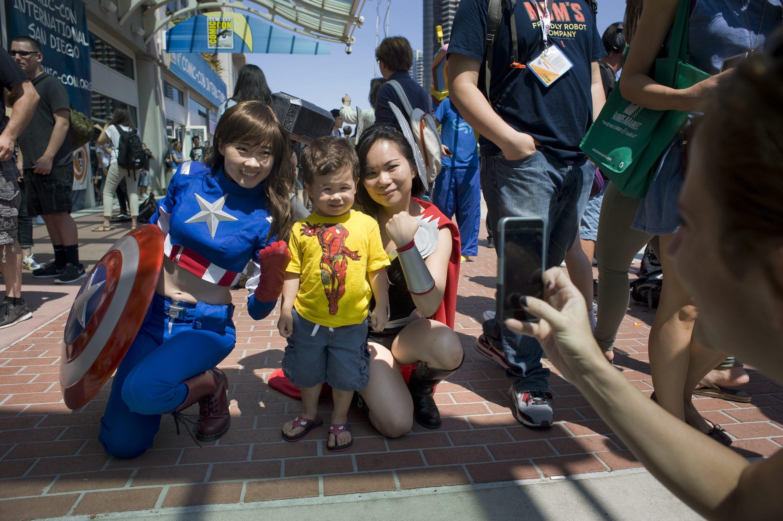 La feria Cómic-Con convierte a San Diego en la capital del entretenimiento