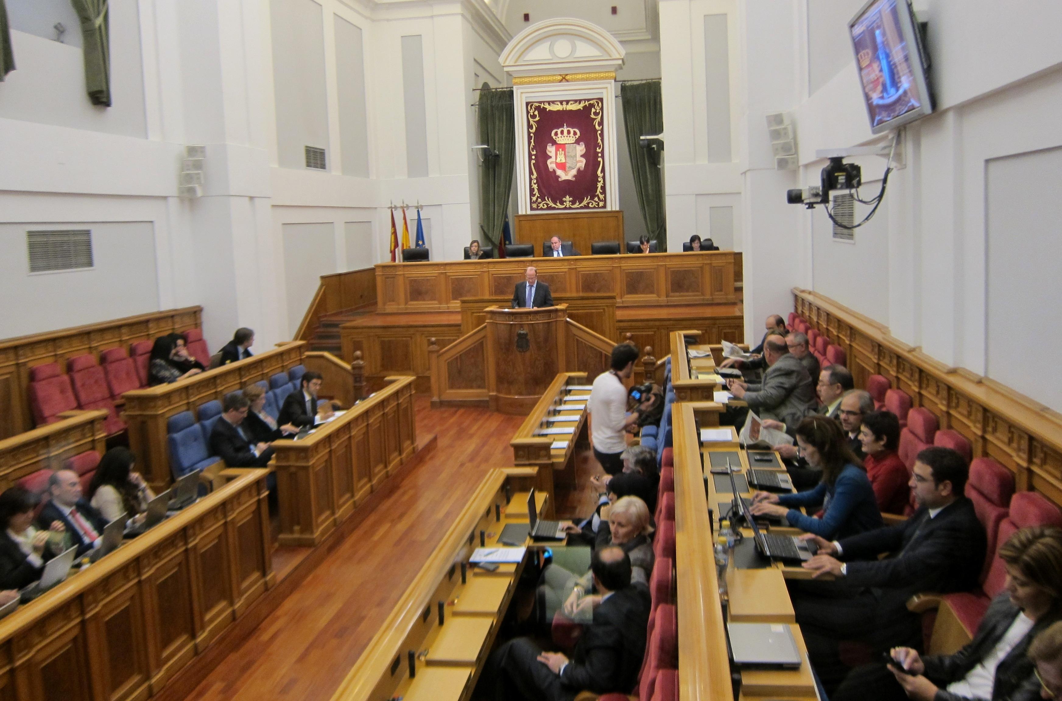 Las Cortes de C-LM verán la reforma del Estatuto para reducir el número de diputados el próximo martes a las 10.00 horas