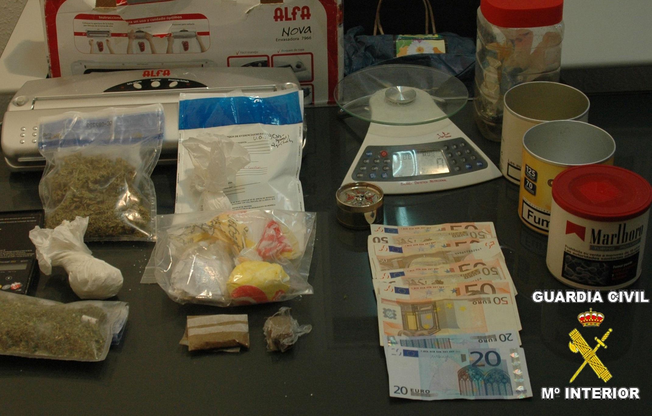 Desarticulada una organización dedicada al tráfico de drogas en Zamora capital, Sanabria y Salamanca