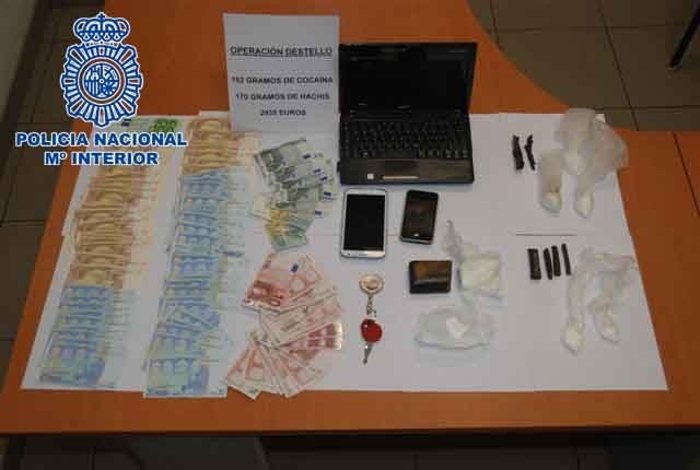 Detenidas cuatro personas en el barrio de La Isleta en Las Palmas de Gran Canaria por tráfico de cocaína
