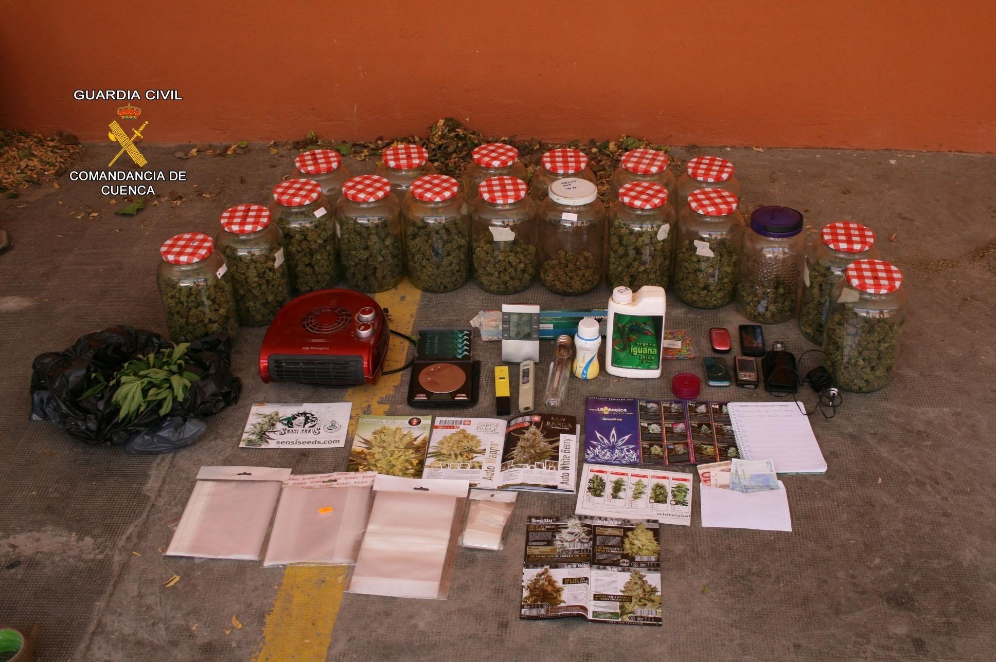 Detenidos por vender droga junto a un colegio de Mota del Cuervo (Cuenca)
