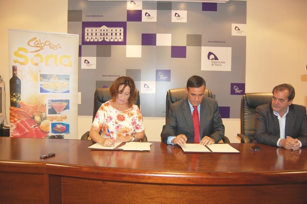 Diputación aporta 20.000 euros a la promoción de los productos de las 200 empresas de »Saborea Soria»