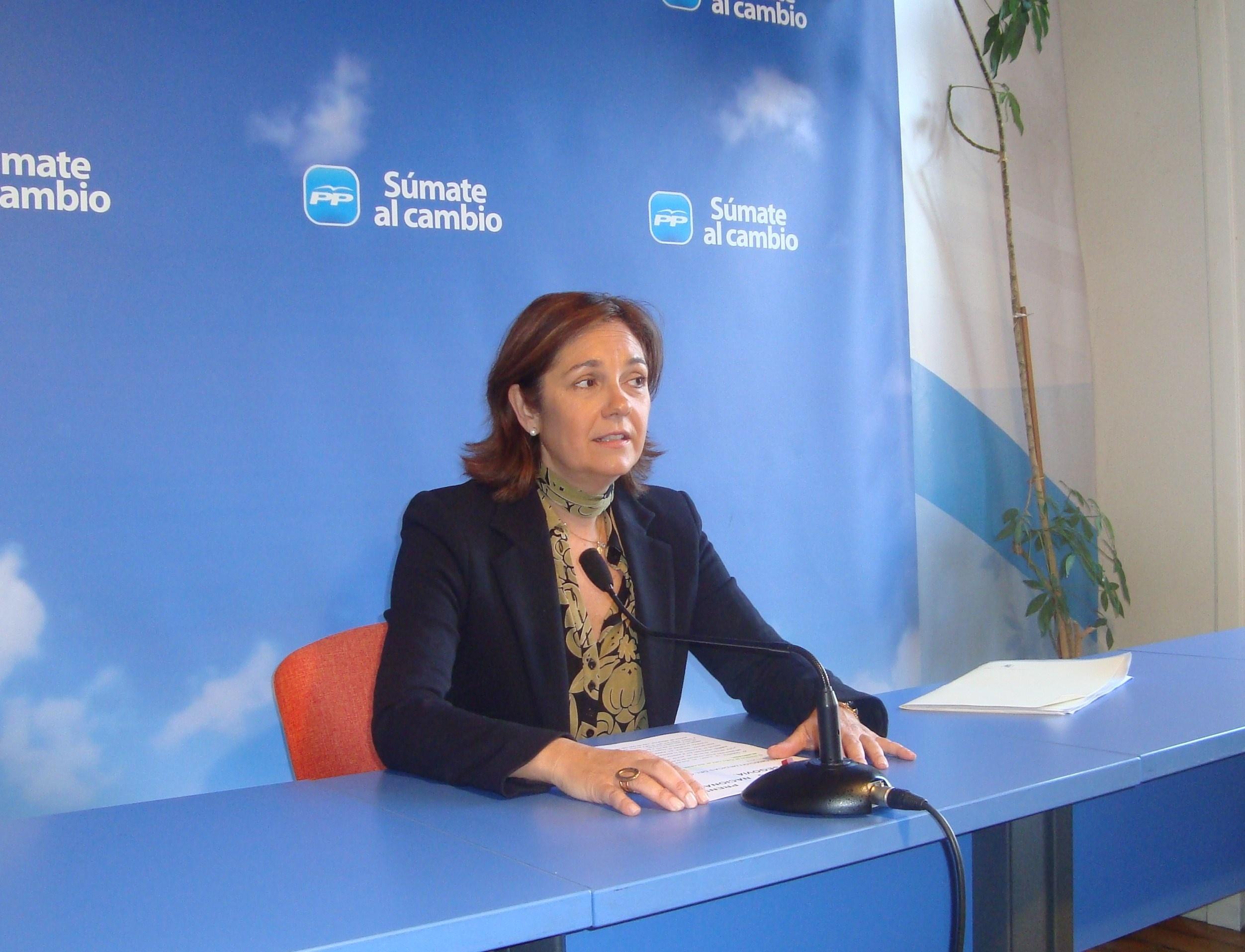 Diputada PP recuerda que usar datos fiscales sin permiso es delito penado con cárcel tras achacarle PSOE un sobresueldo