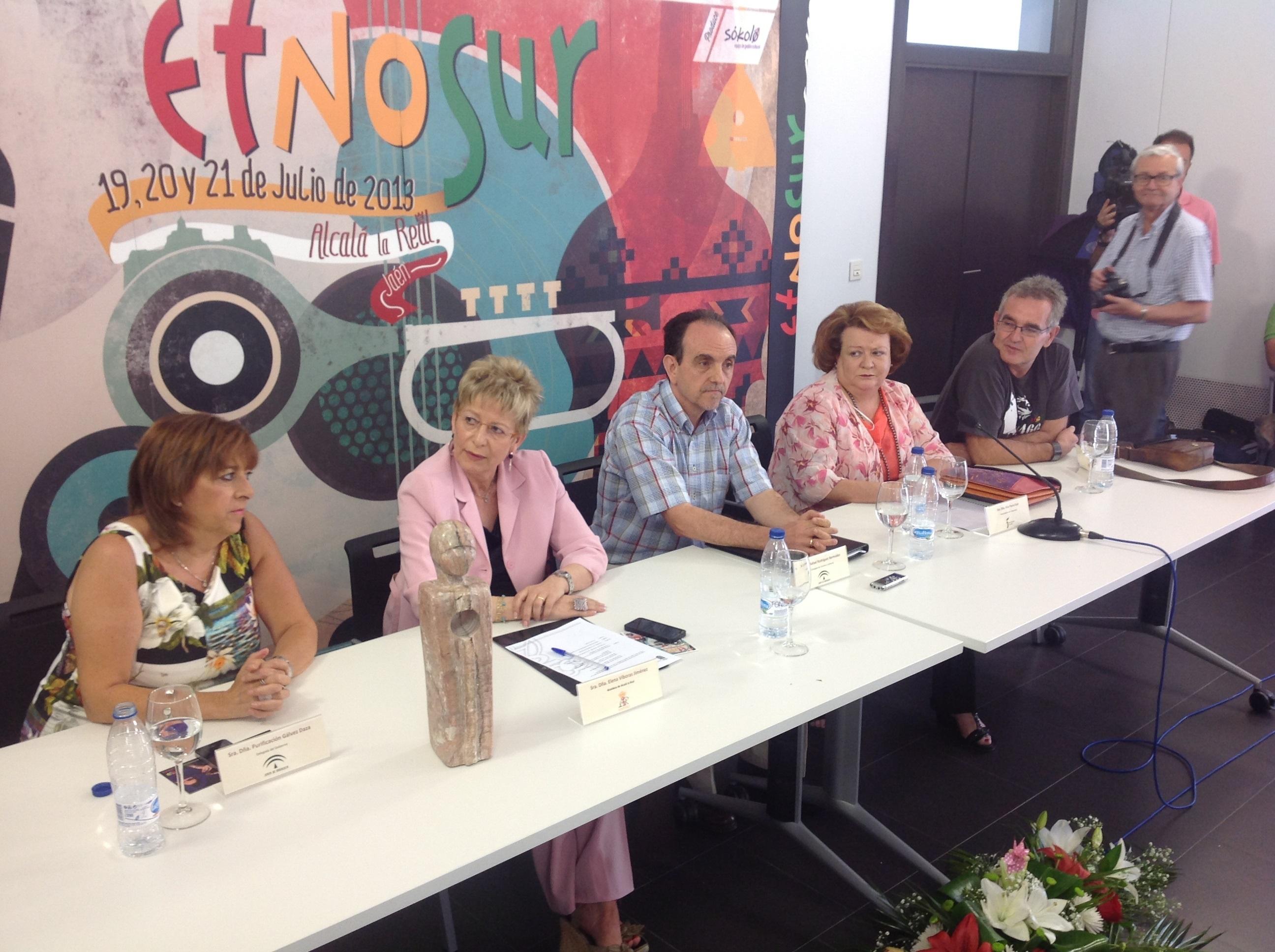 Etnosur abre su XVII edición «consolidado como referente cultural y turístico de Jaén»