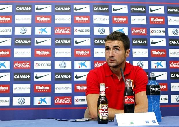 Gabi (Atlético): «Villa es un gran refuerzo, no renunciamos a nada»