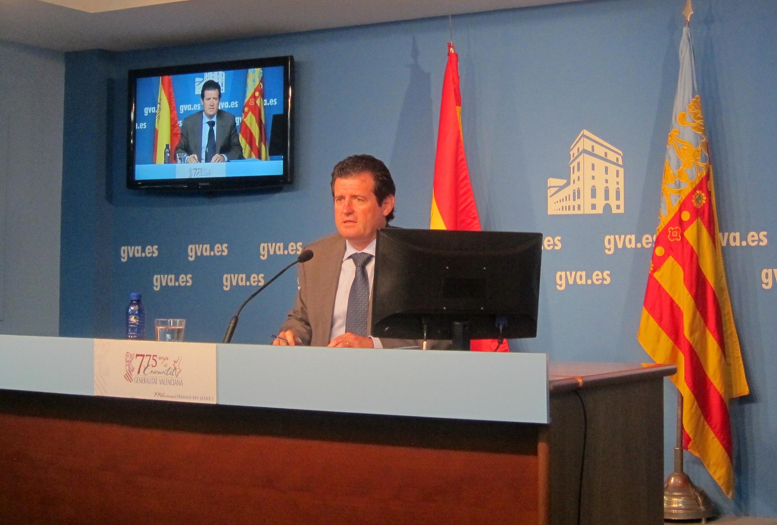 Generalitat valenciana dice que la asociación que ha denunciado a Castellano tiene «puntos oscuros»