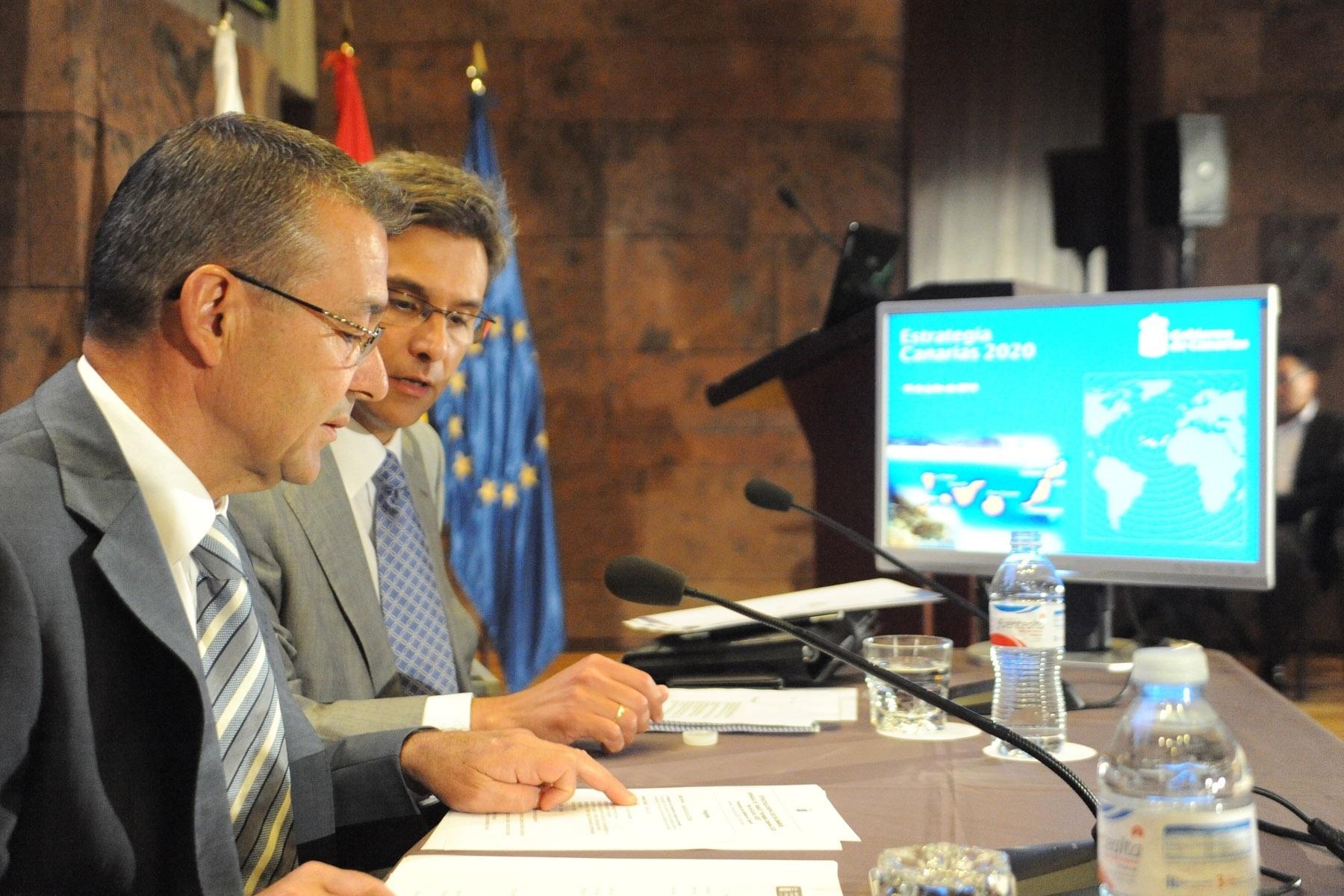 El Gobierno de Canarias inyectará 130 millones en el mercado para «ensayar» la Estrategia Europea 2020