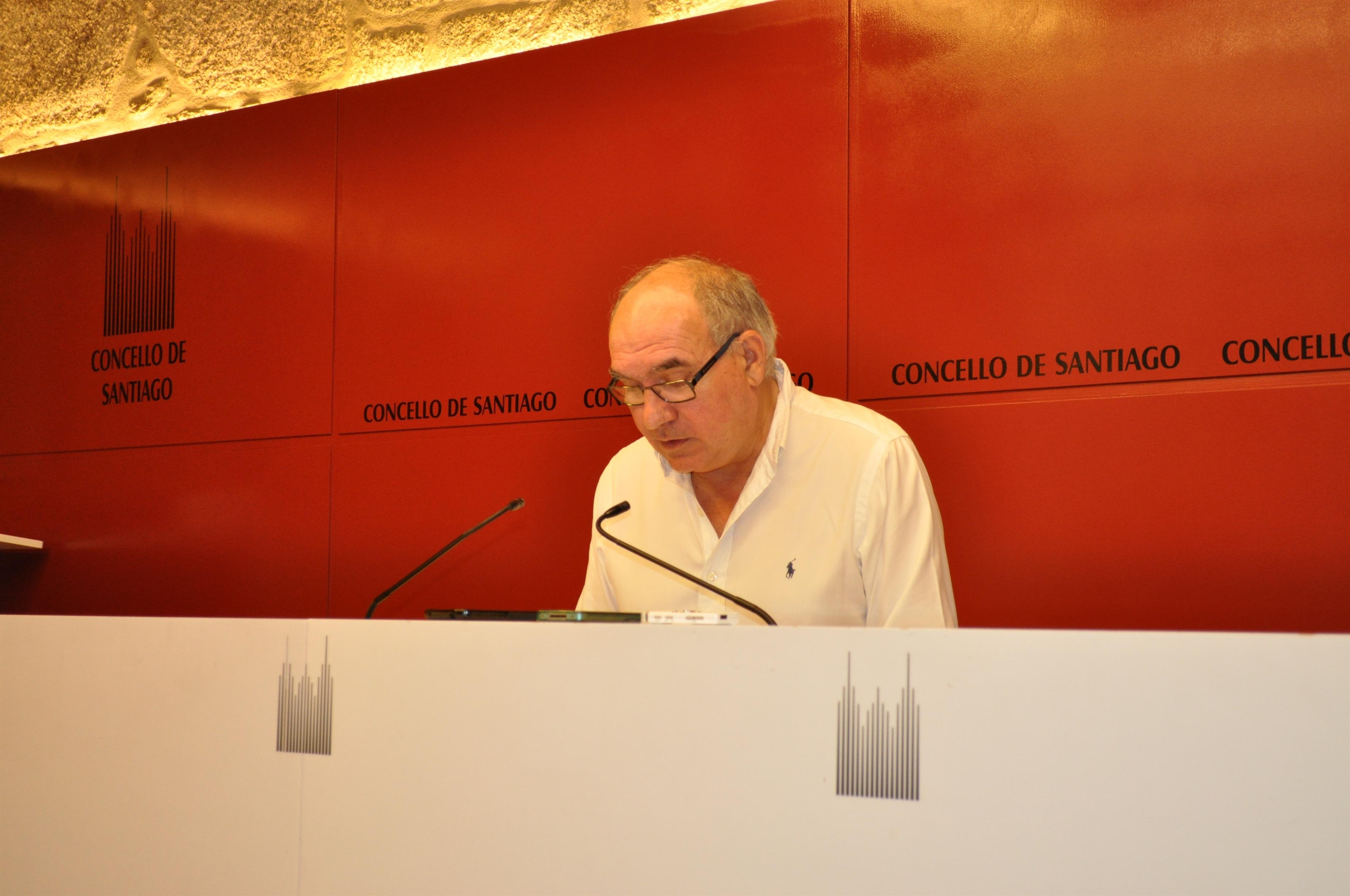 Imputado el edil compostelano Bernardino Rama (PSdeG), quien dice desconocer los motivos y que no dimitirá