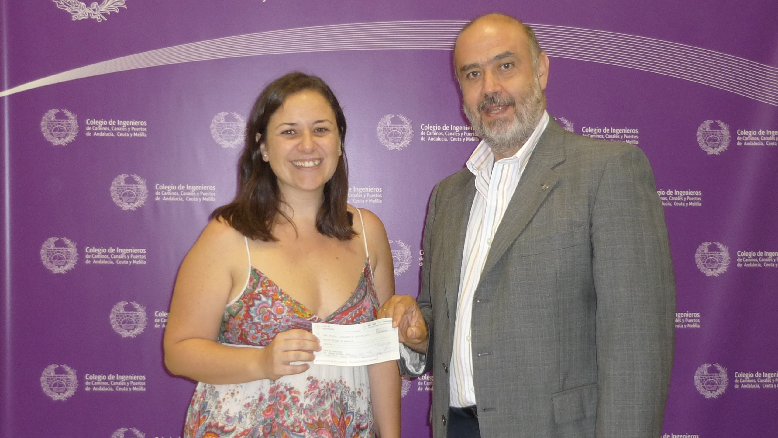 Los Ingenieros de Caminos de Andalucía, Ceuta y Melilla donan 6.000 euros a Cáritas Regional