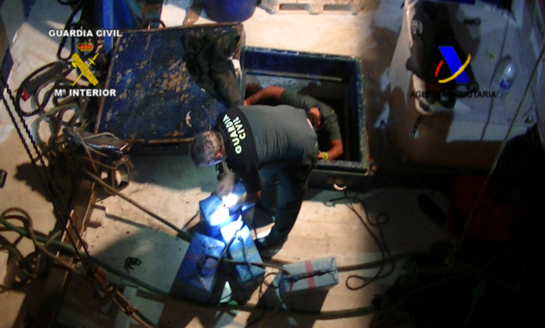 Interceptan un pesquero con más de 6 toneladas de hachís con destino a Huelva