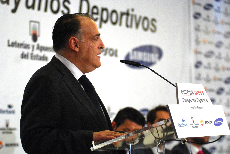 Javier Tebas viaja a Chile para promocionar la Liga BBVA y la Liga Adelante