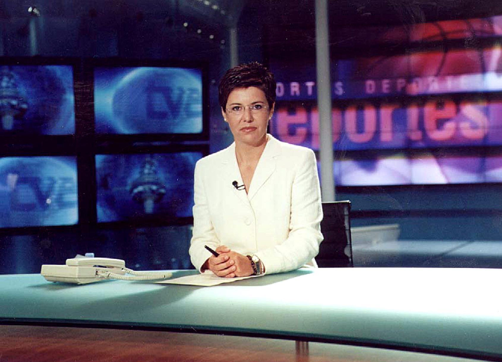 María Escario cumple 20 años ininterrumpidos en los telediarios de TVE