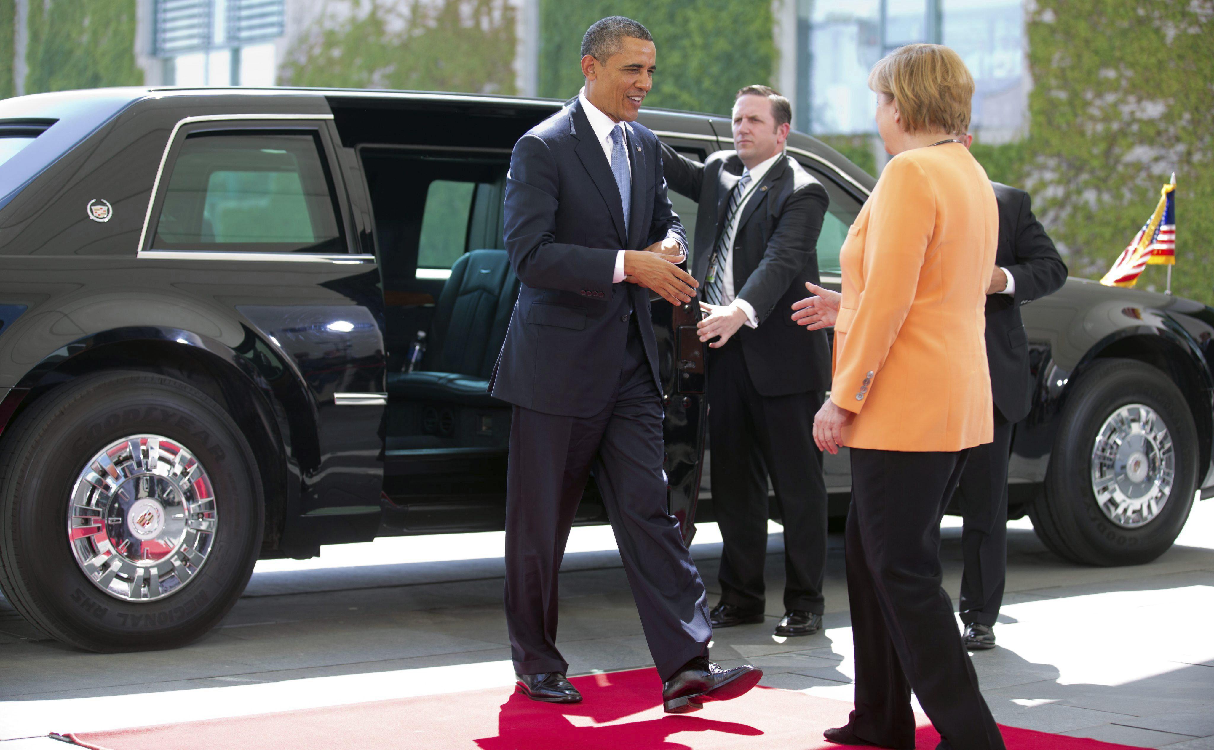 Merkel advierte de que el espionaje de EEUU debe atenerse «en suelo alemán a la ley alemana»