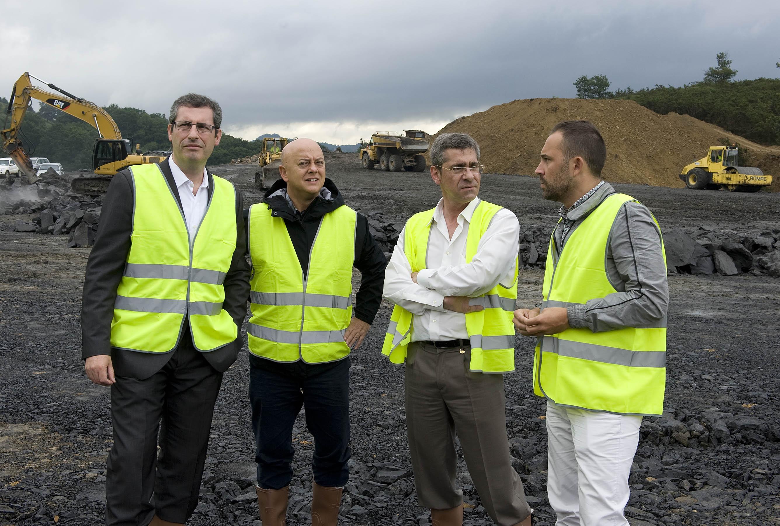 Ormazabal (PNV) asegura que la decisión de paralizar la incineradora es «absolutamente y exclusivamente» de Bildu