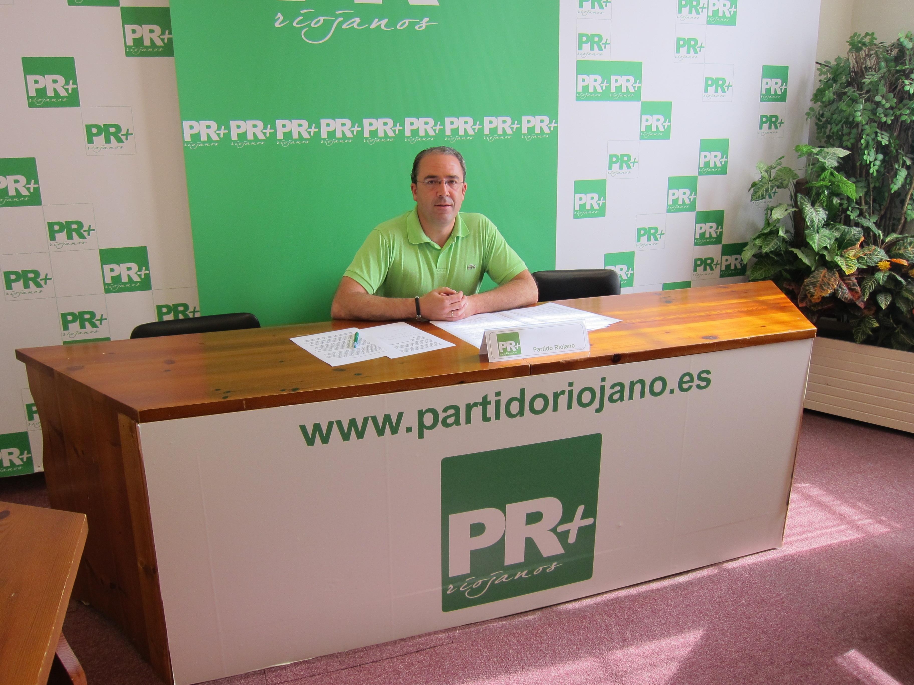El PR+ ve la supuesta financiación ilegal del PP riojano como «el hecho más grave de los 30 años de vida» de la región