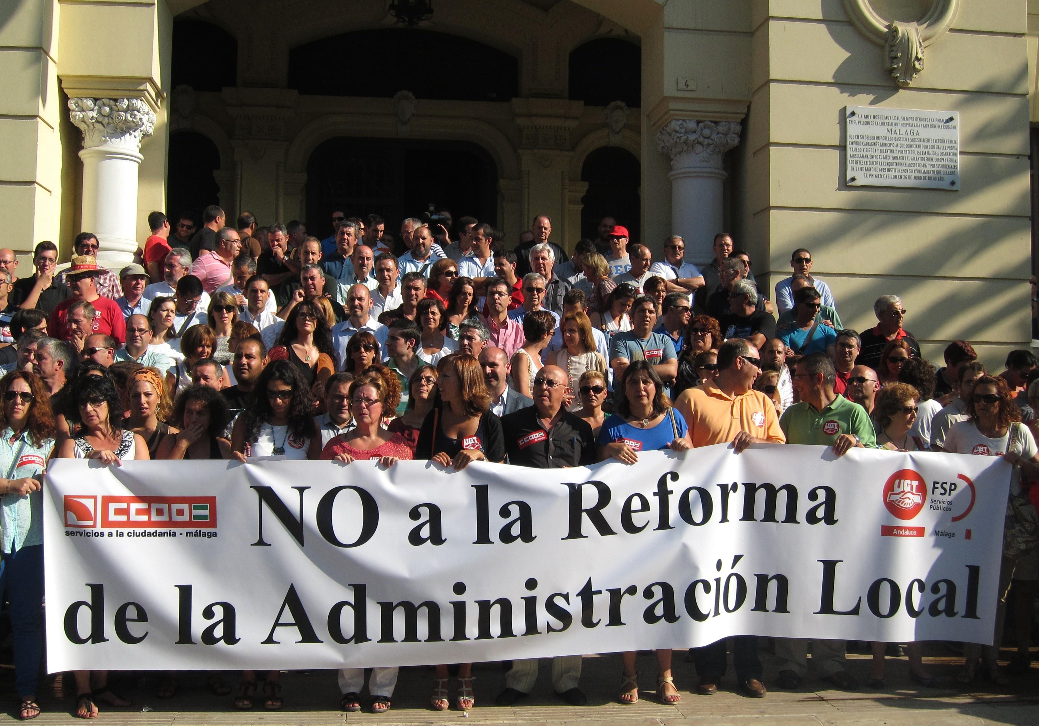 PSOE-A pide al Gobierno que «aplace de manera definitiva» la reforma local y que empiece un nuevo proceso con «consenso»