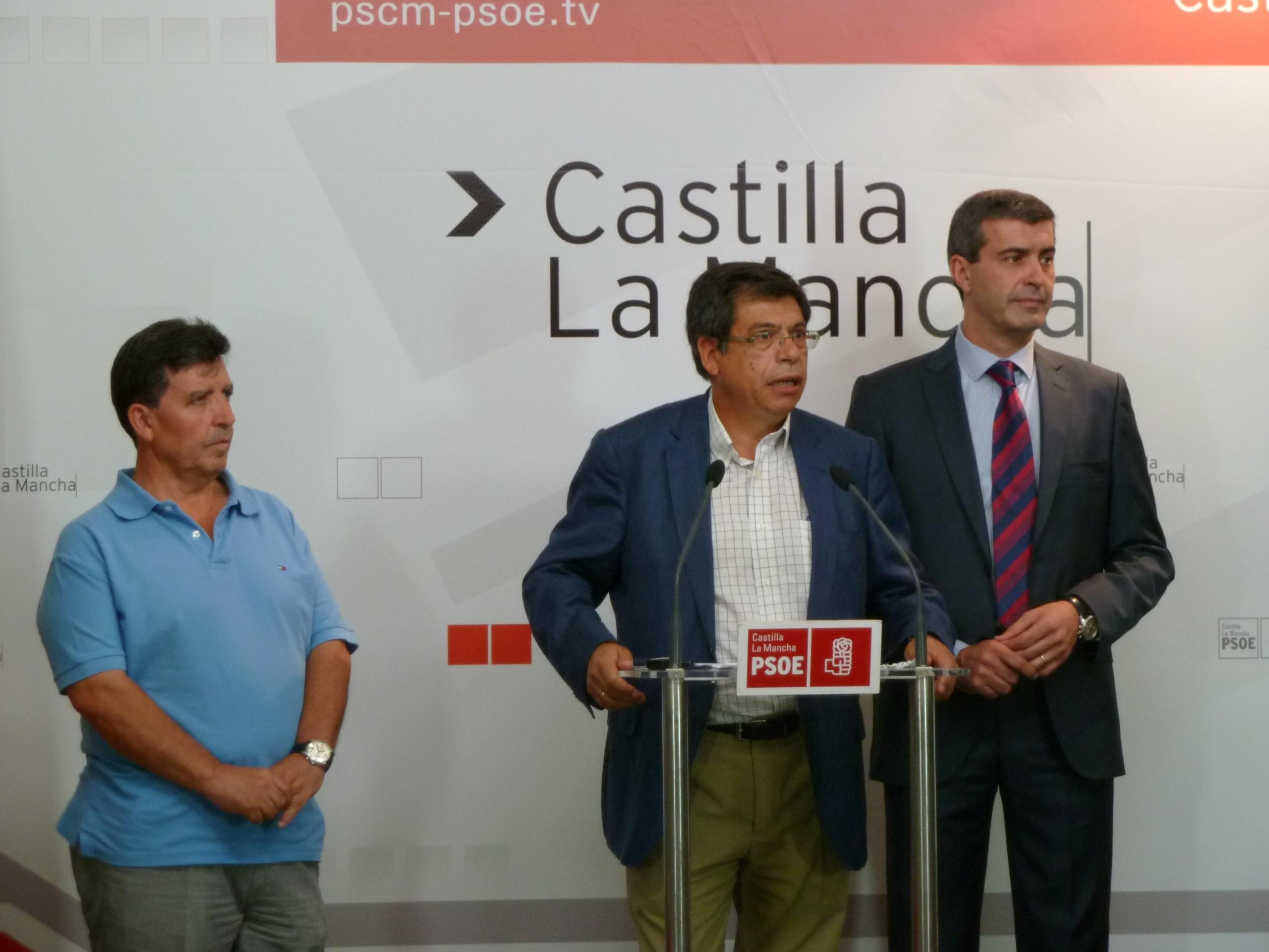 PSOE pide un aumento del caudal del Tajo a su paso por Toledo, Aranjuez y Talavera en sus alegaciones al plan