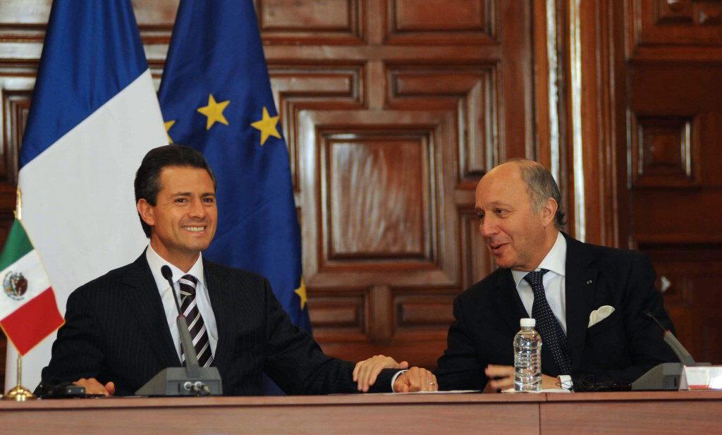 Peña Nieto asegura que se ha pasado página en la crisis con Francia