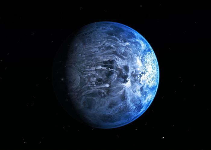 La Tierra será como un píxel y América, el único continente iluminado por el Sol