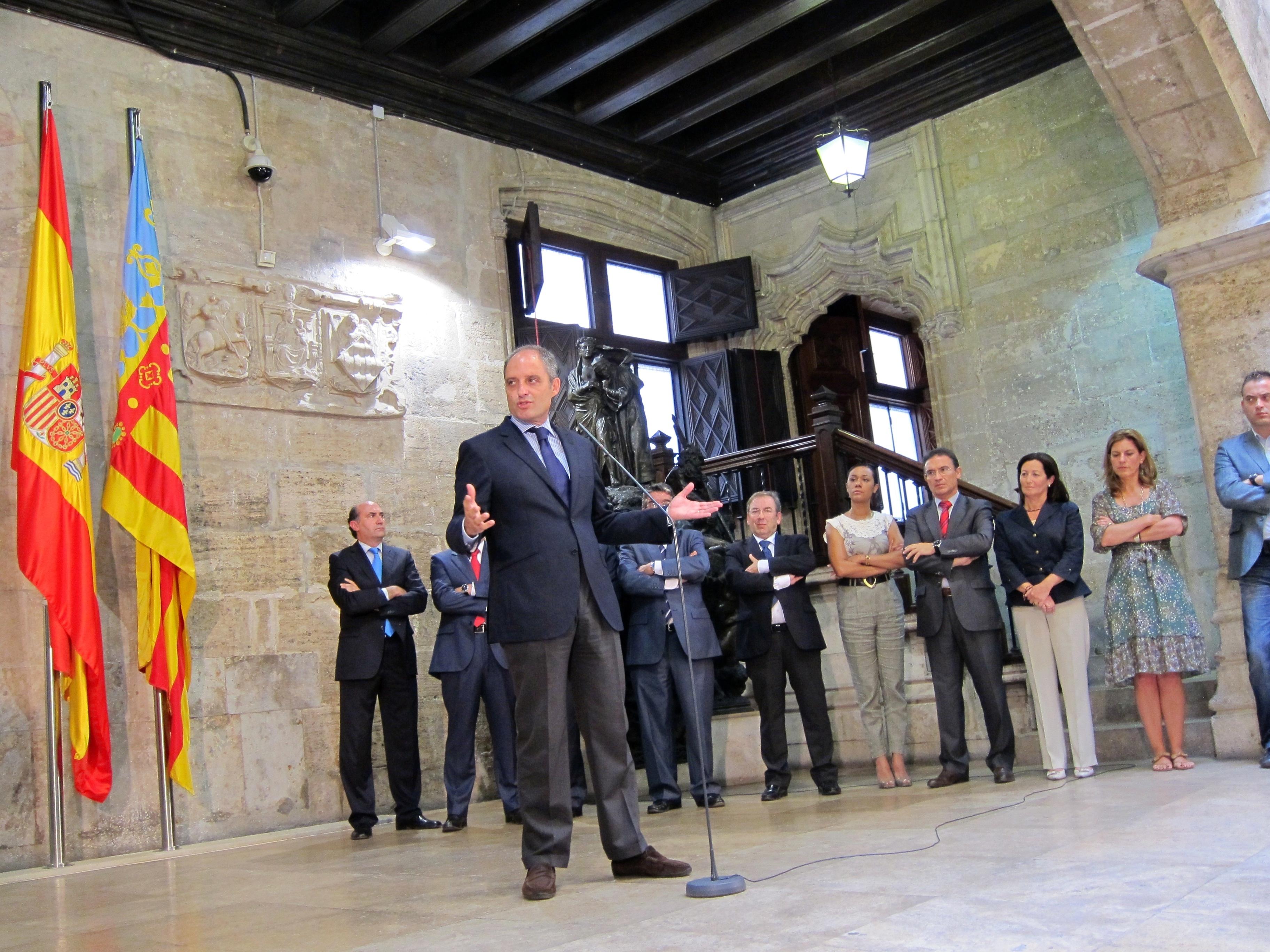 Portavoz Generalitat valenciana sobre el futuro político de Camps: «Dios dirá»