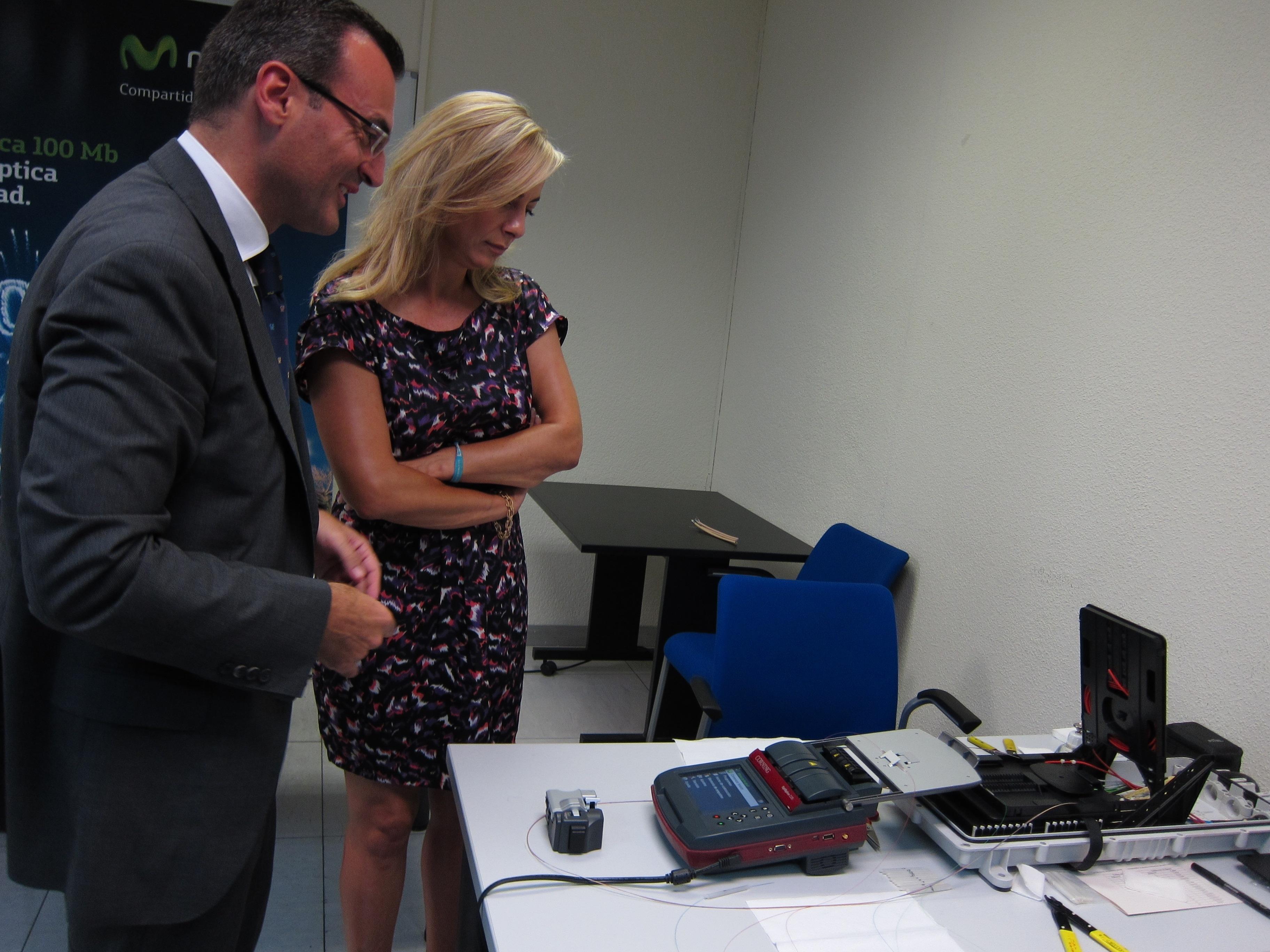 Telefónica creará 700 puestos de trabajo para instalar la fibra óptica en Alicante