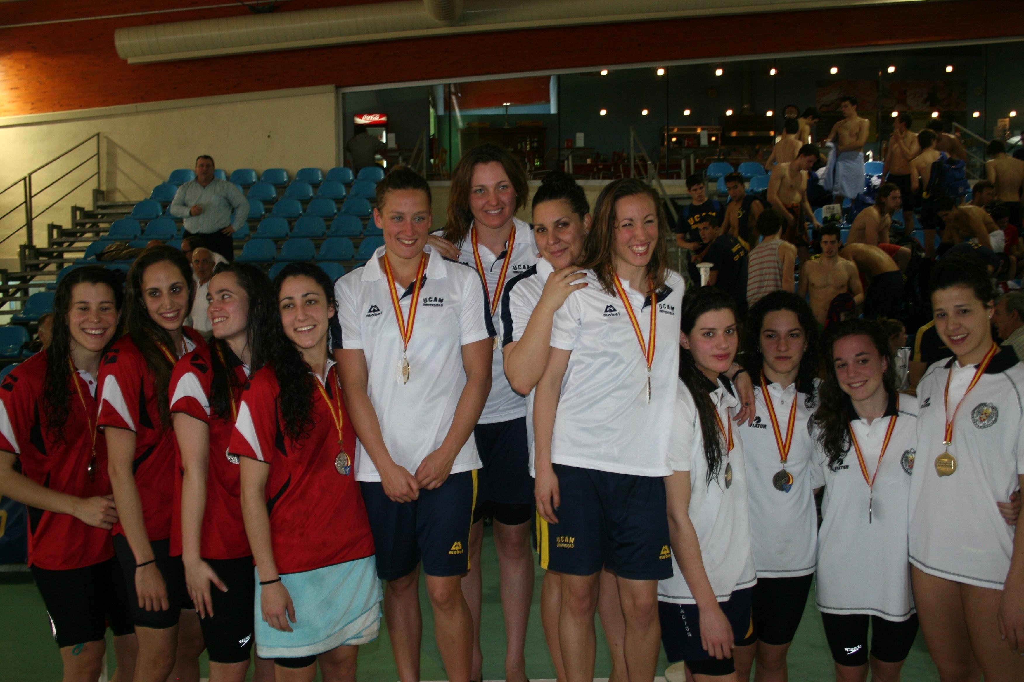 Cinco nadadores de la UCAM participan en el Campeonato del Mundo de Natación Barcelona 2013