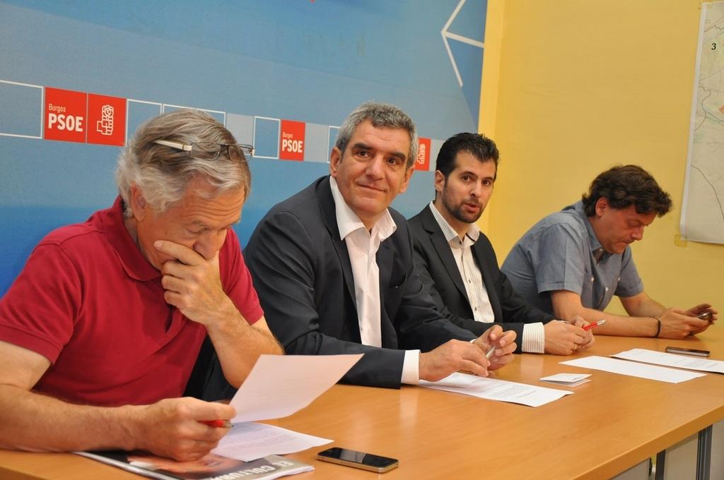 Villarrubia dice que la sede del TSJCyL seguirá en Burgos «sí o sí» y cree que Gallardón debe reconocer que se equivoca