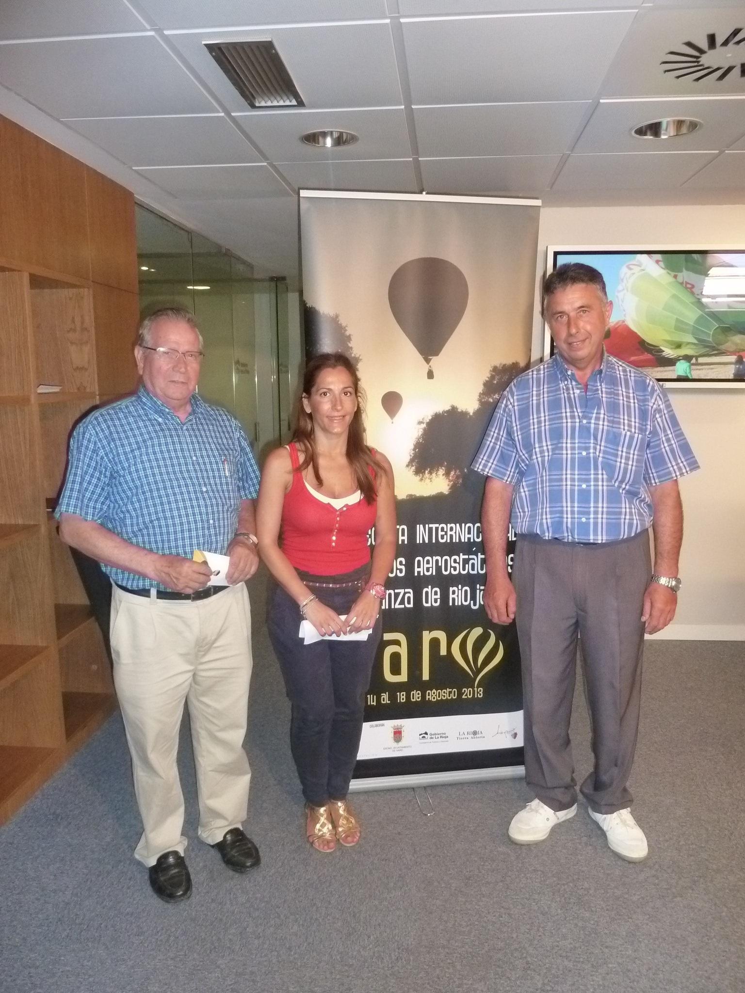 La XIII Regata Internacional de Globos Aerostáticos »Crianza de Rioja» se celebrará en Haro del 14 al 18 de agosto