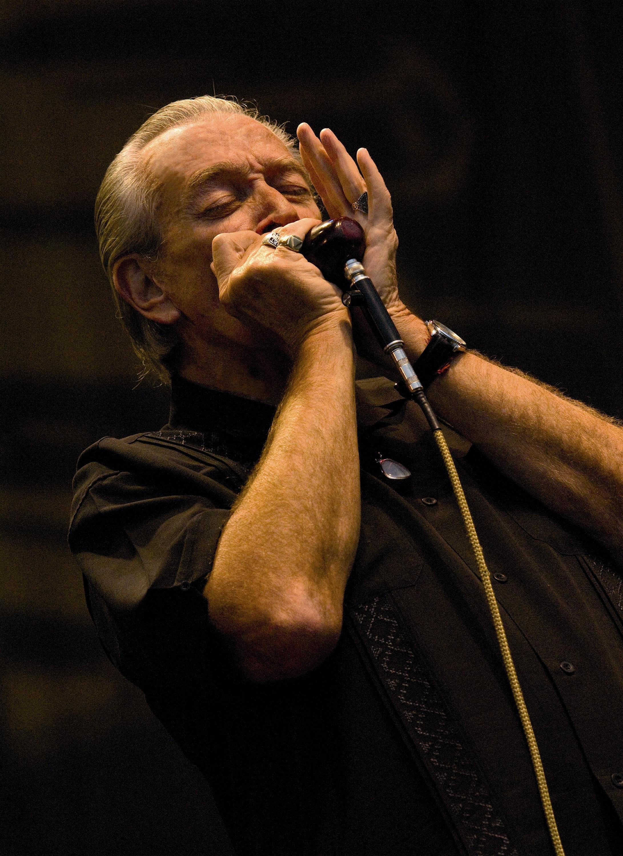 El XXV festival Getxo & Blues cerrará con la actuación del maestro de la armónica Charlie Musselwhite