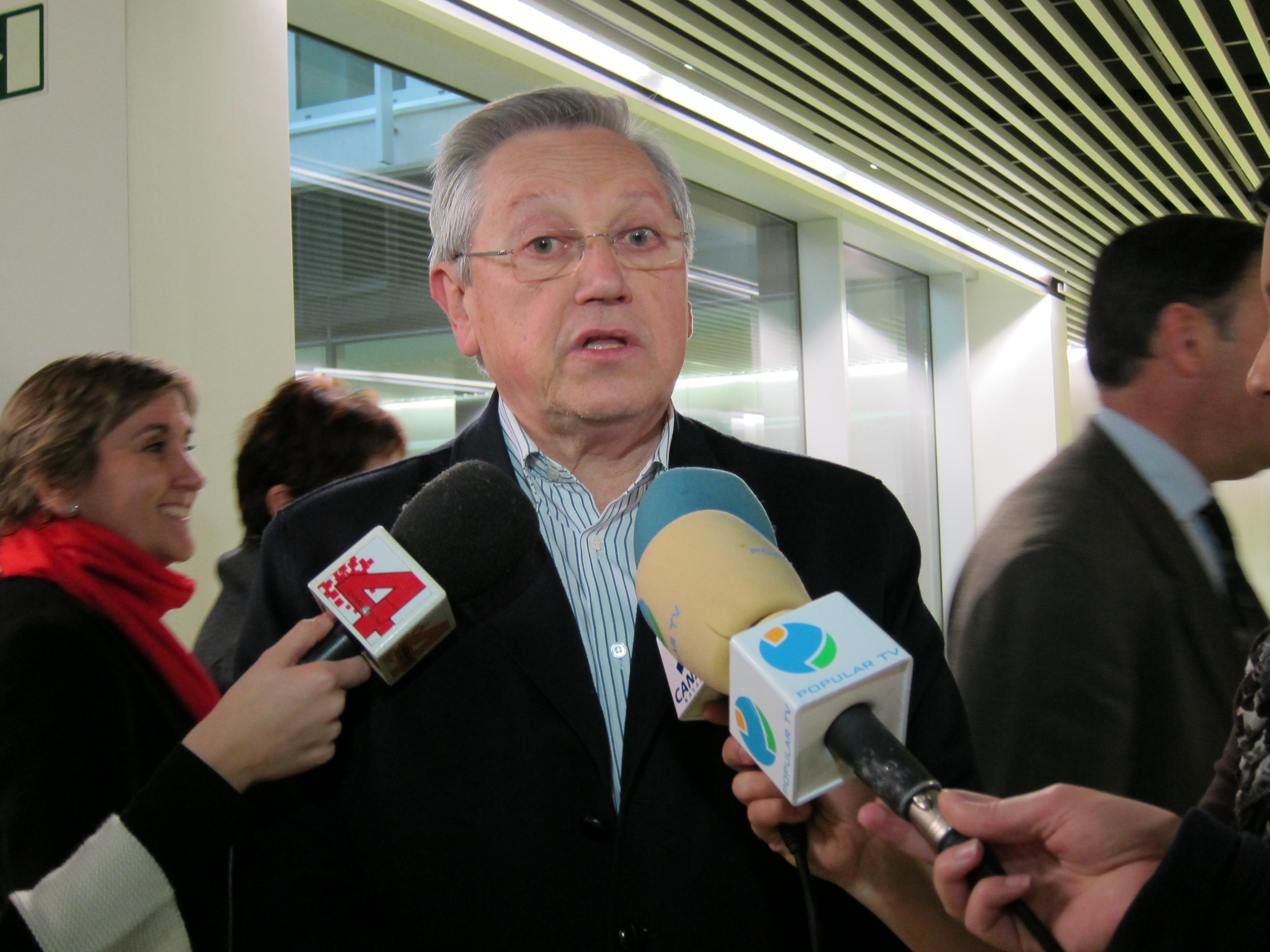 Zabaleta dice que el rechazo del fiscal a abrir causa a Barcina era «teóricamente previsible» y «carece de rigor»