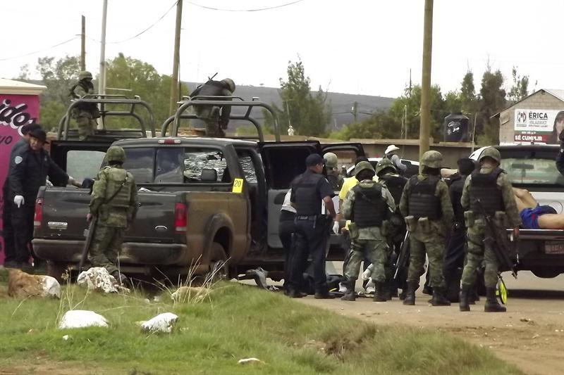 Alrededor de mil personas han huido de un pueblo mexicano por una ola de violencia