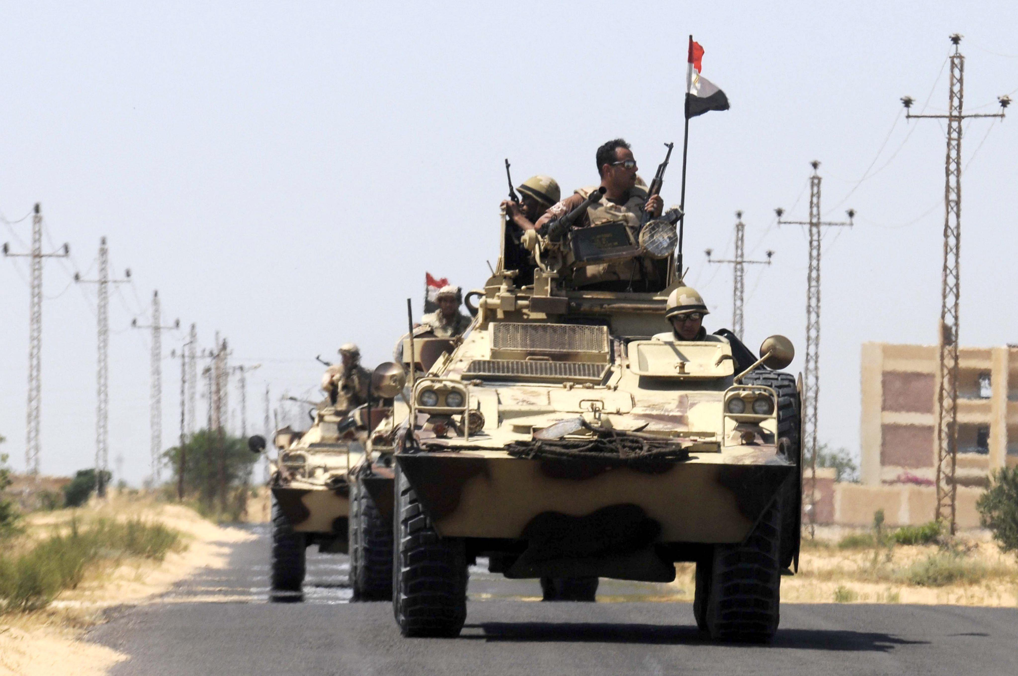El ejército de Egipto inicia la batalla contra los islamistas en el Sinaí