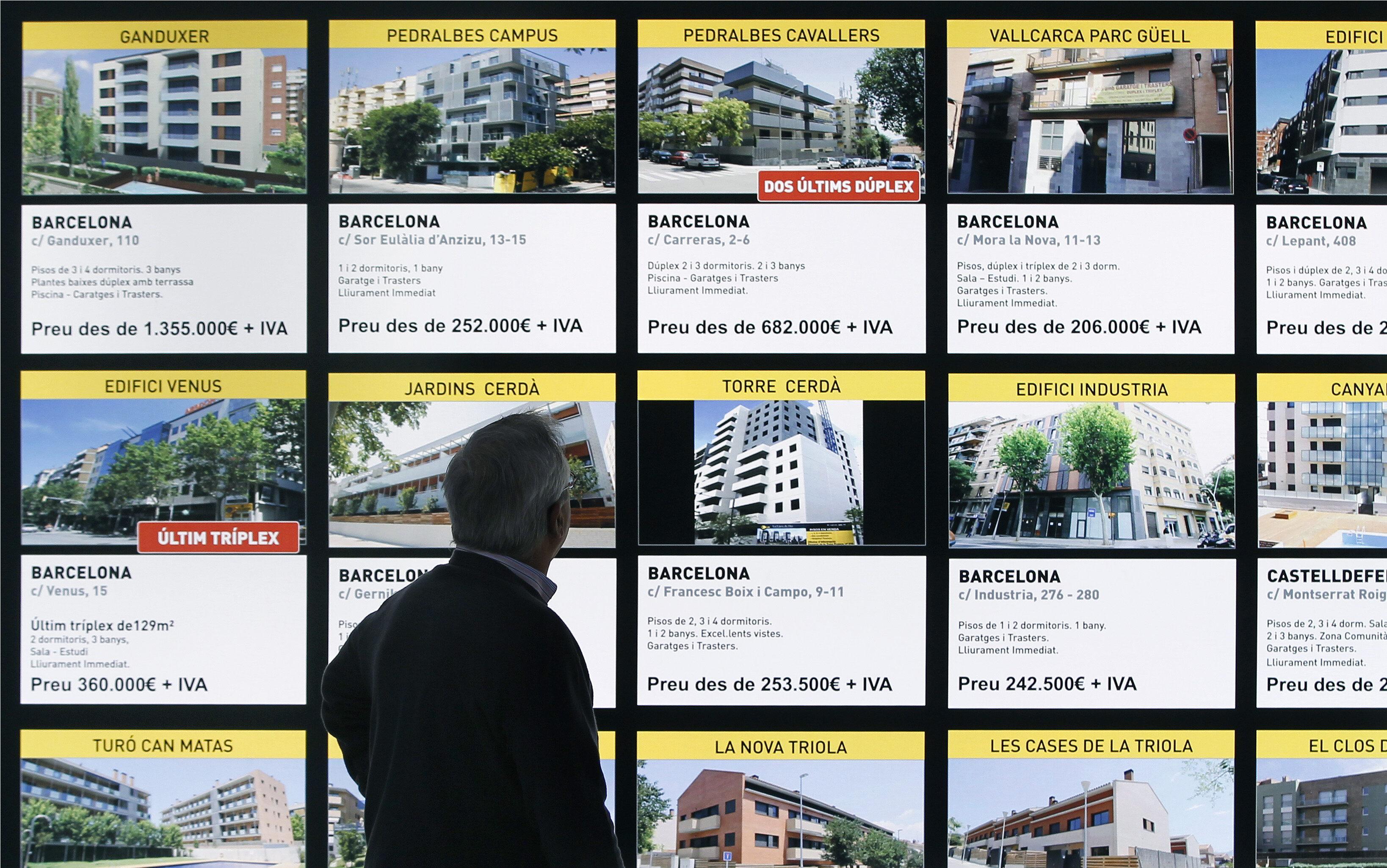 El precio de la vivienda cae un 7,6 por ciento en el segundo trimestre del año