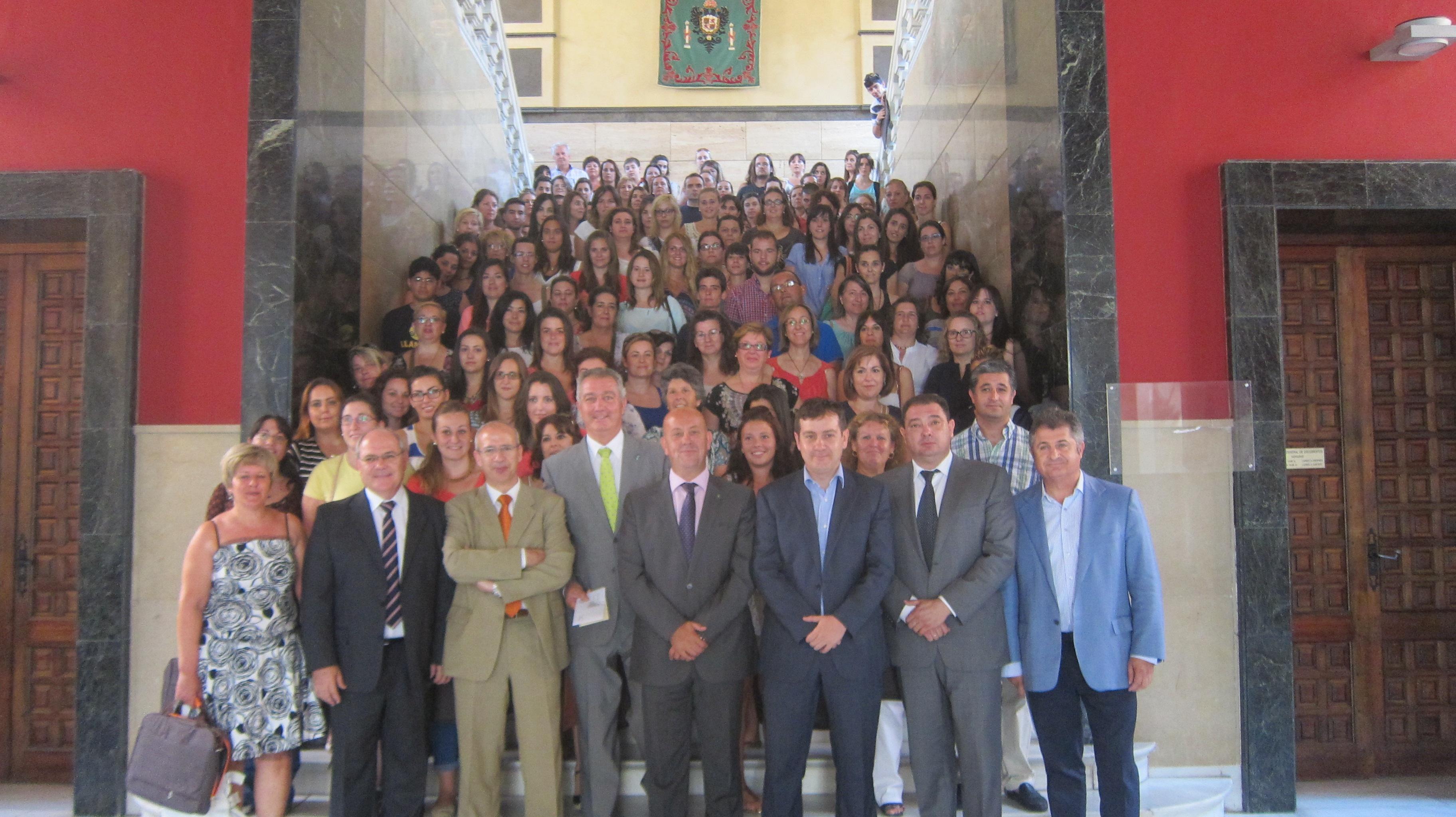 Este lunes arranca »De la mano contigo», un programa de la Diputación que fomenta la integración en municipios de Toledo