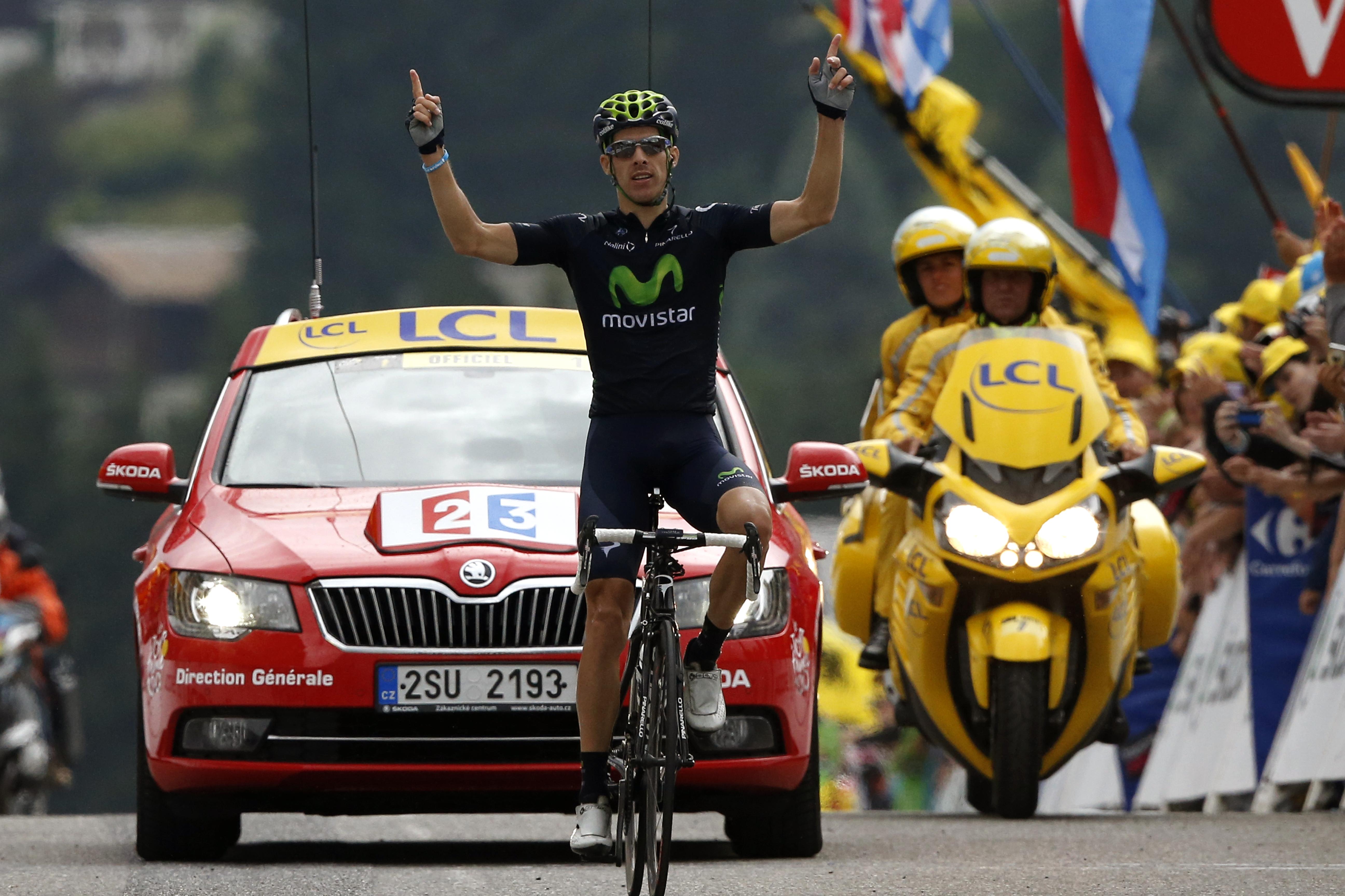 Rui Costa logra su segunda victoria en una etapa sin cambios en la general