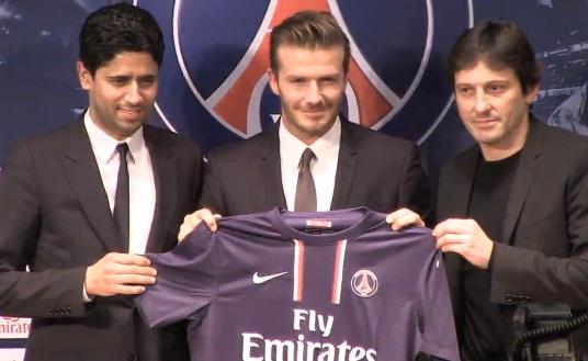David Beckham lanzará un libro de sus fotos como futbolista en octubre
