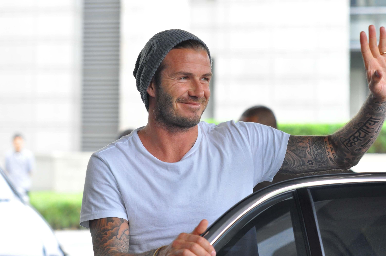 David Beckham es fan de »Modern Family» y »The Office»