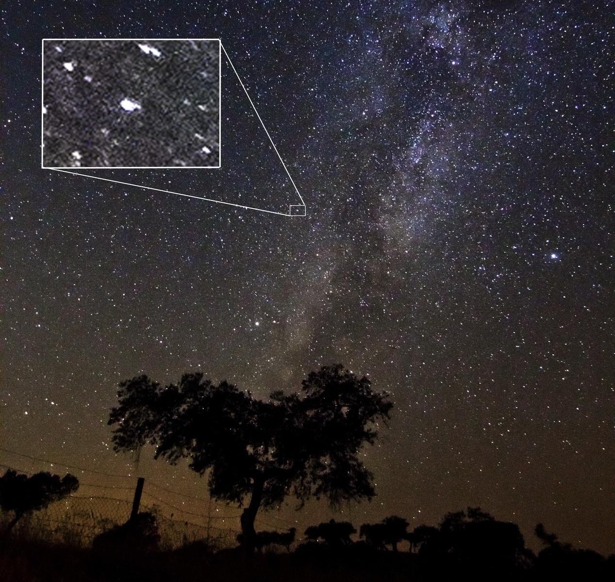 Una pyme española inmortaliza la aparición de una nueva estrella desde el parque natural de Sierra Morena