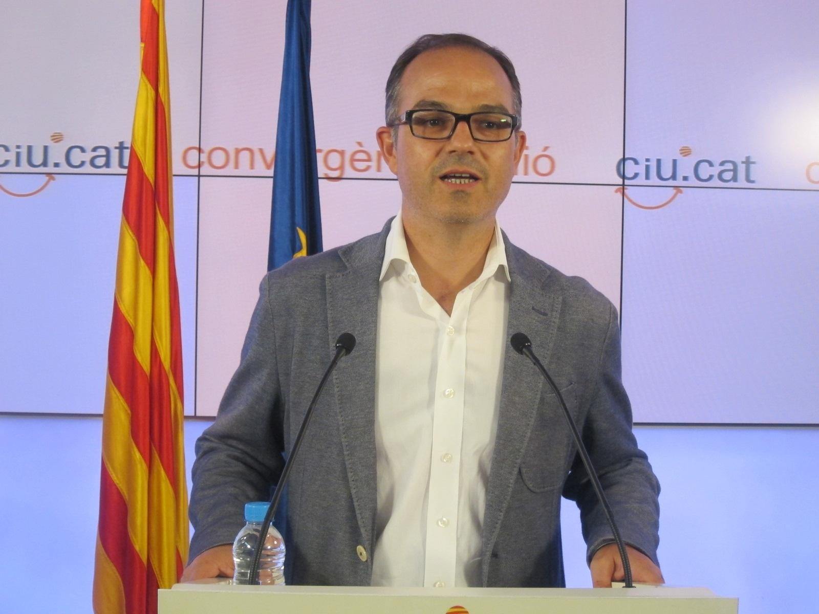 CiU lamenta que «la España subsidiada viva a costa de la Catalunya productiva»