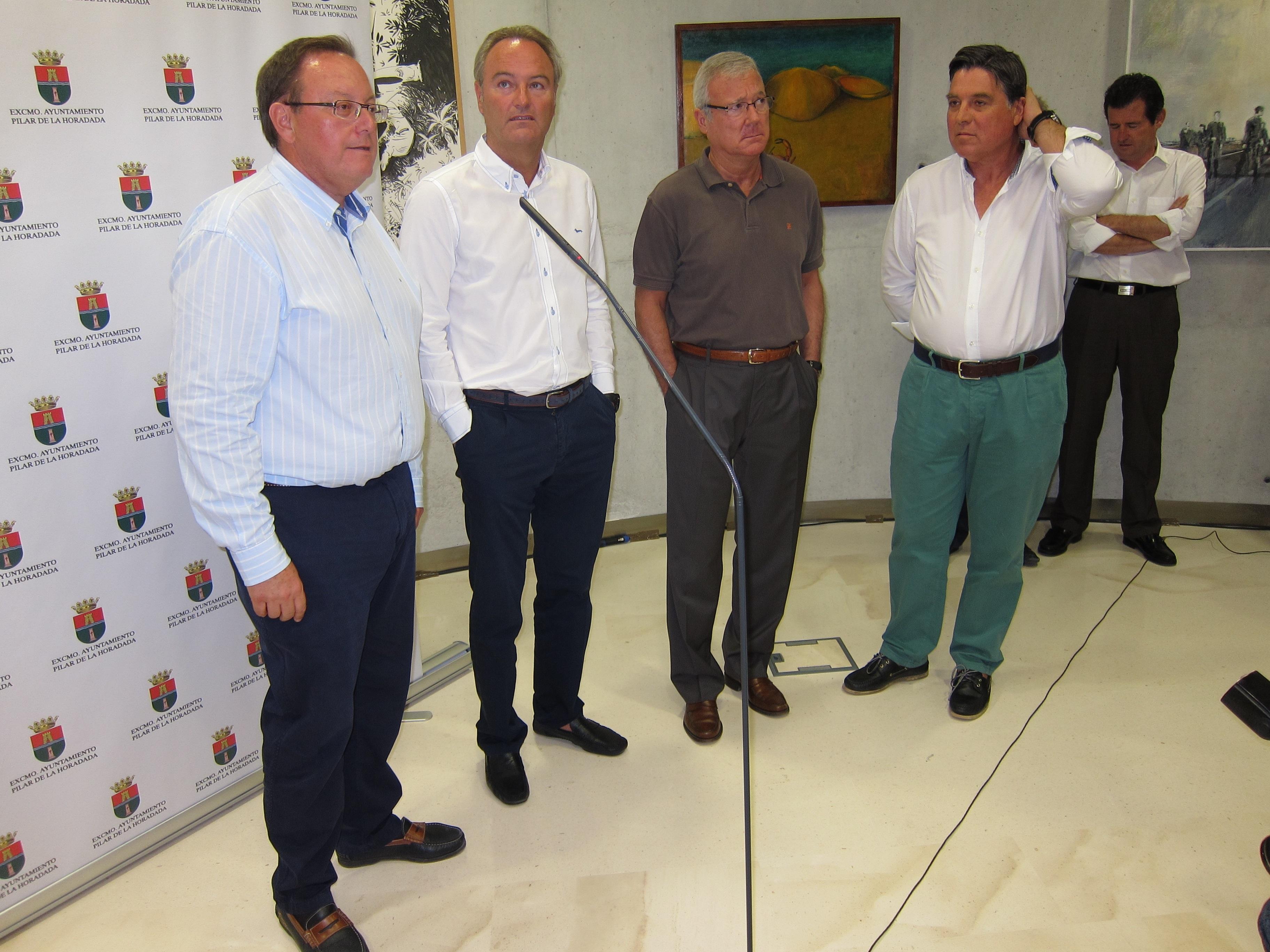 Fabra y Valcárcel defienden el Corredor y critican a quienes apoyan a Tarragona en su recurso contra el tercer carril
