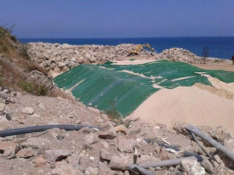 Gibraltar ya ha encontrado una fuente alternativa a la arena y piedra española