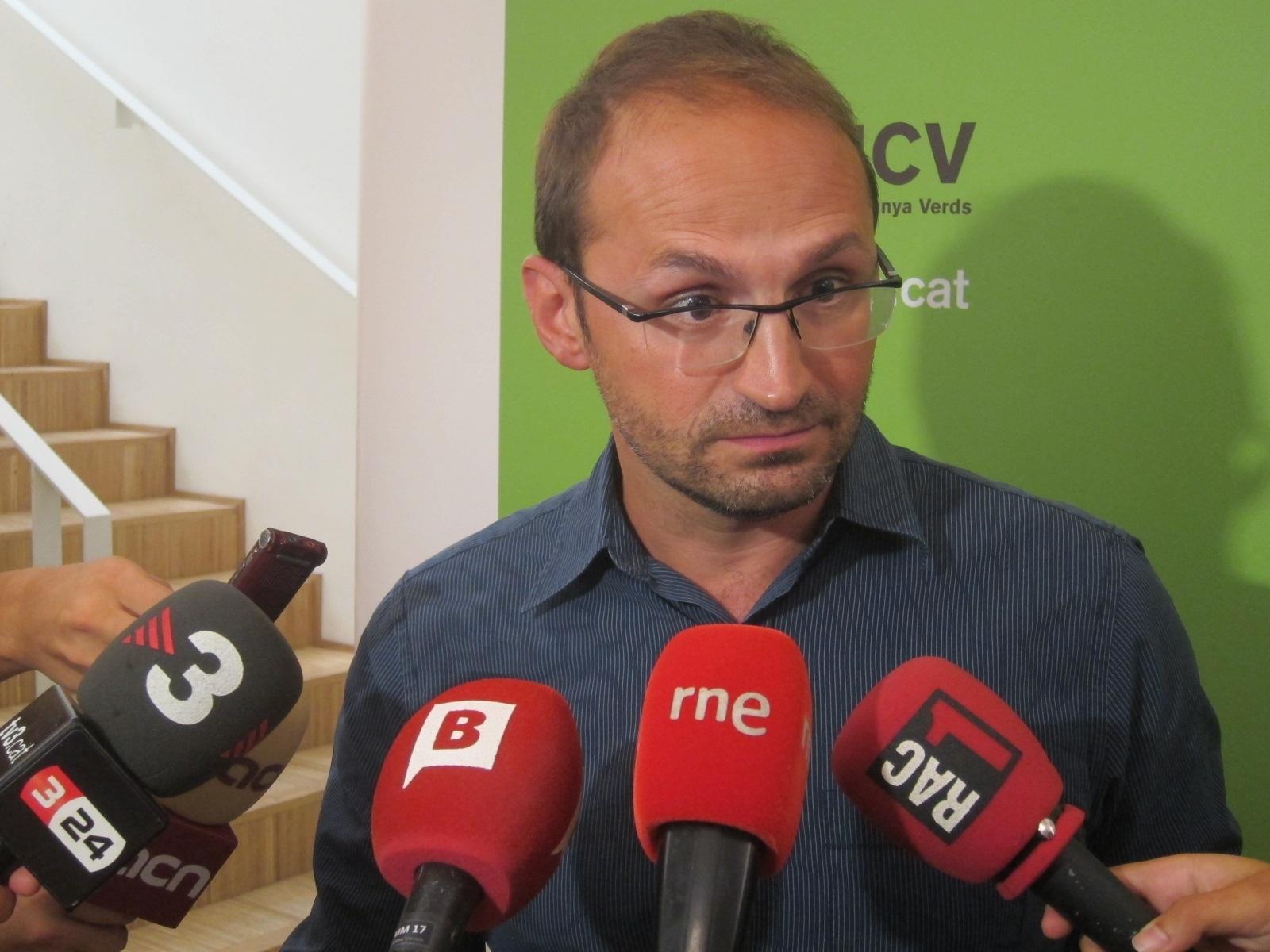 ICV-EUiA censura que la prórroga presupuestaria catalana es «un atentado contra la democracia»