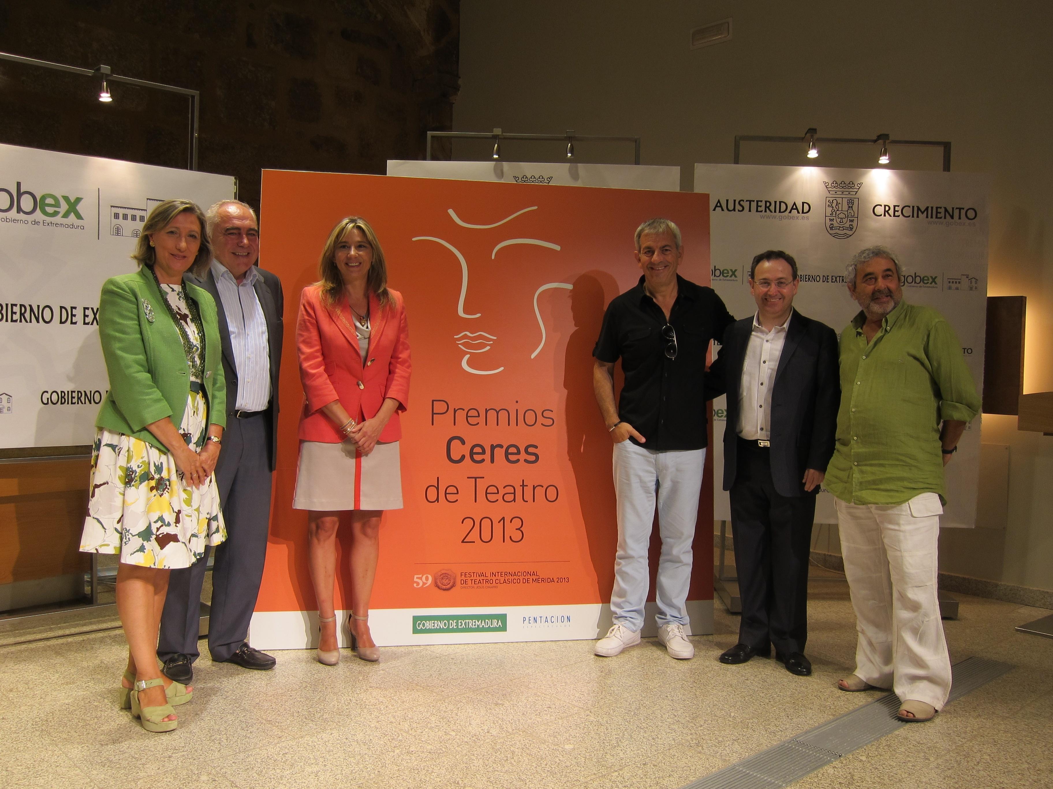 La gala de los II Premios Ceres, «gran fiesta» del teatro de España