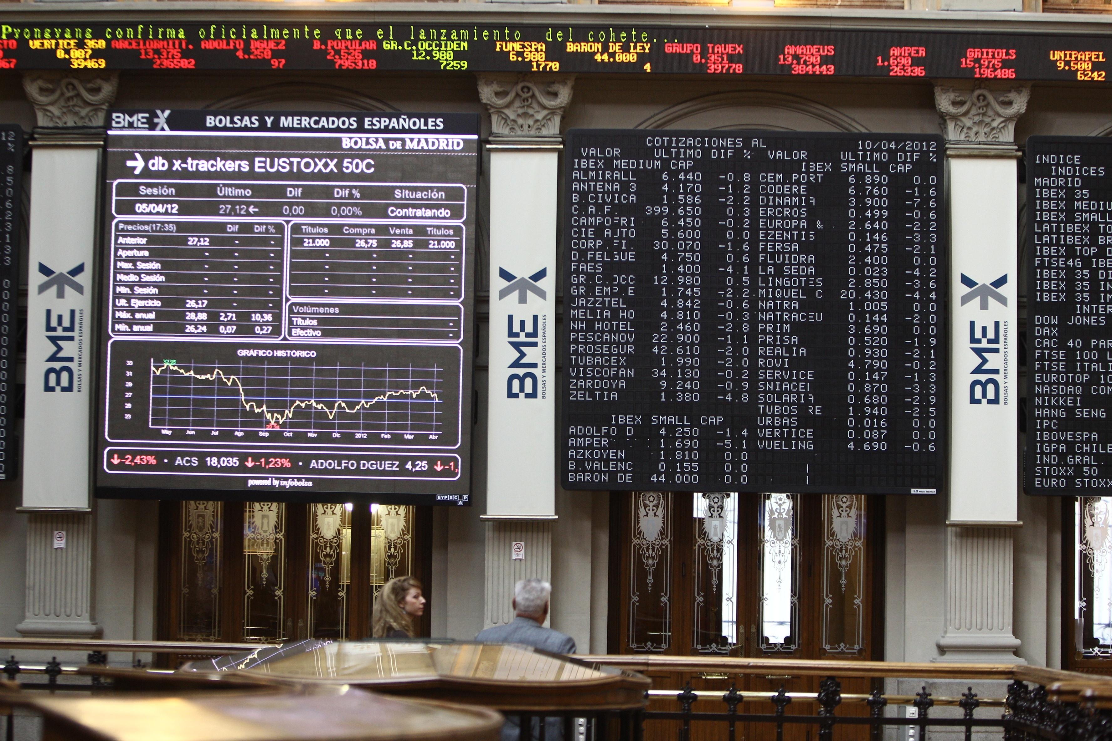 El Ibex se hunde un 2,5% y abandona los 8.500 puntos lastrado por los bancos