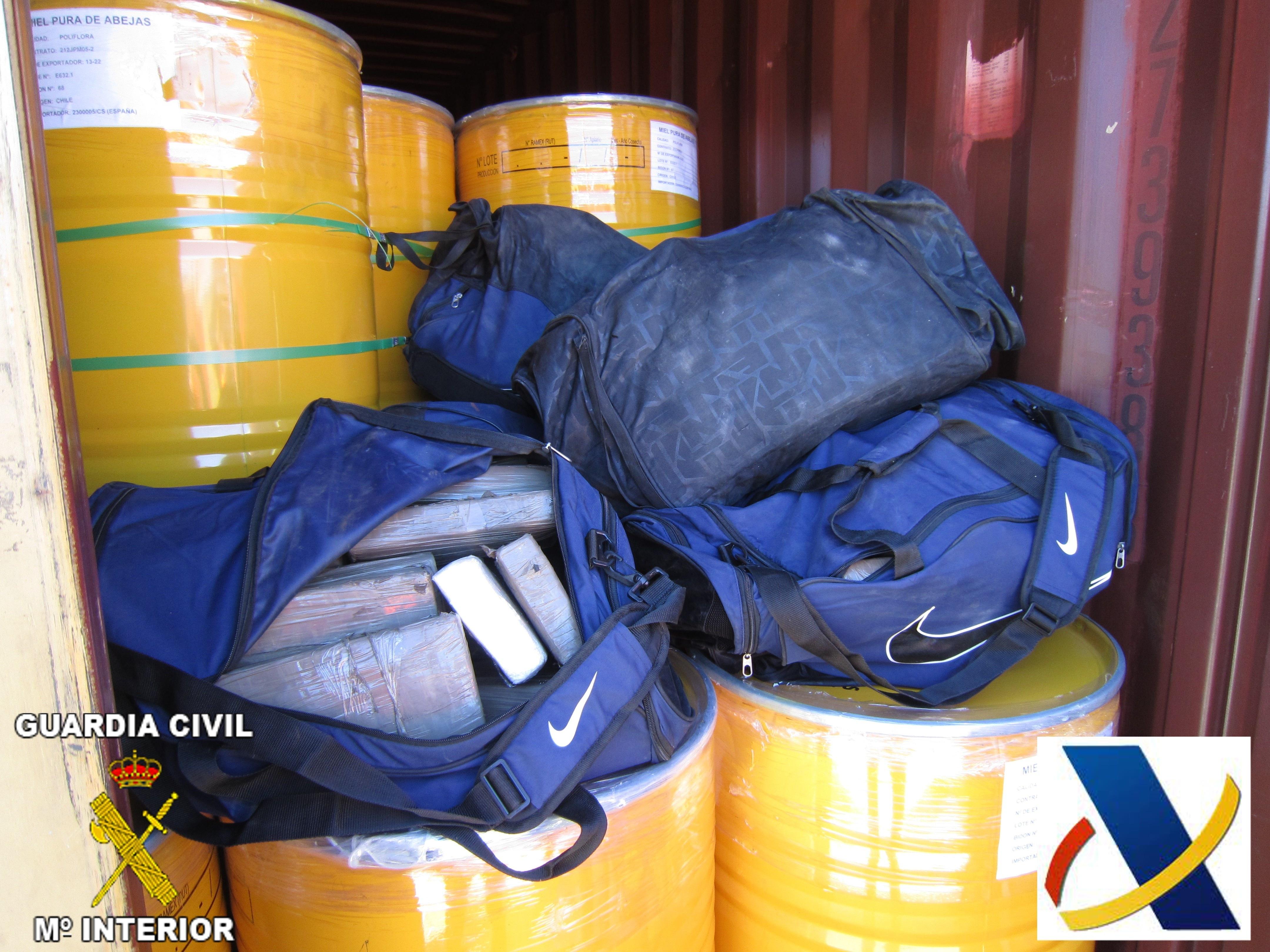 Localizan en el Puerto más de 200 kilos de cocaína en un contenedor procedente de Sudamérica