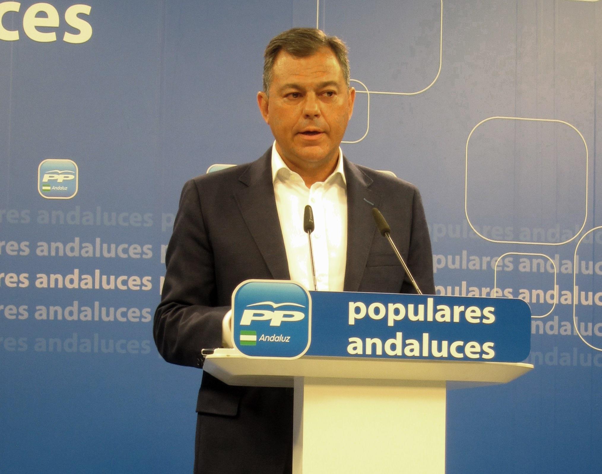 PP-A pide al PSOE-A un proceso electoral tras la renuncia de Griñán para dar paso a un cambio político