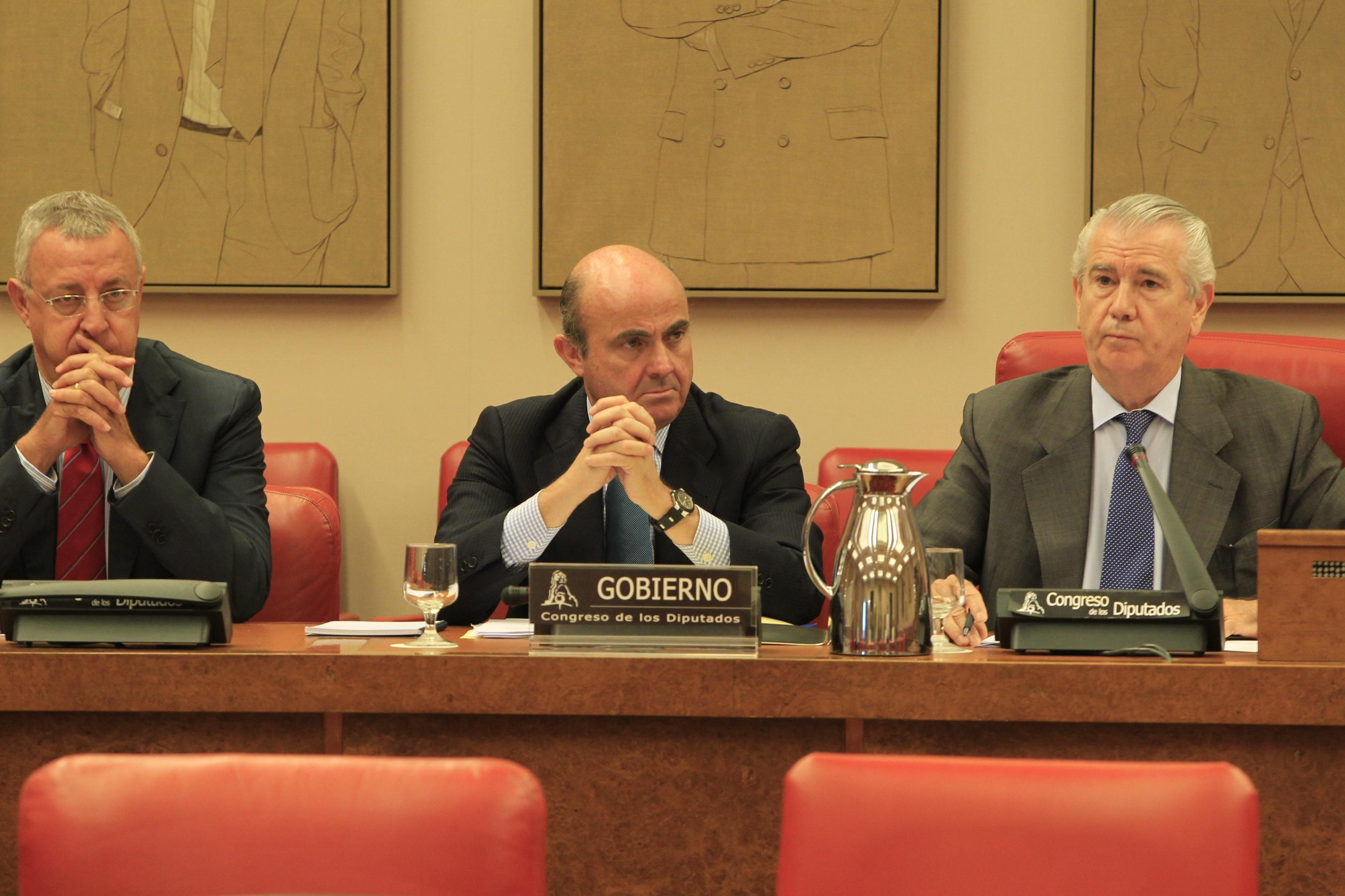 El PP rechaza que Guindos explique en el Congreso el balance del FROB y se remite a la subcomisión específica